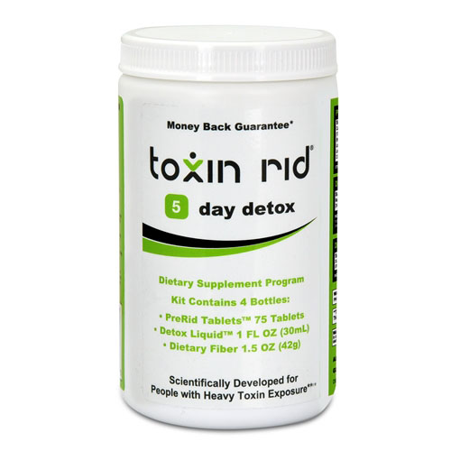 most use toxin rid program